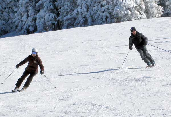 Bebe & Howie at Vail